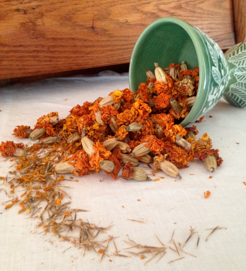 Marigold seeds!